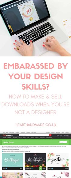 are you embarassed by your design skills? Learn how to make and sell printables … - Haus Dekoration Holz Make Money Online, How To Make Money, Some Love Quotes, New Things To Learn, Things To Sell, Crafts To Make And Sell, Sell Diy, Making Ideas, Online Business