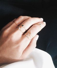 Mix & Match: zo combineer jij verschillende ringen - Jani