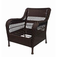 Garden Treasures Glenlee Textured Brown Steel Strap Seat Patio Chair. $122    Lowes 2015