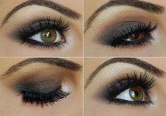 Smokey Eyes for green or hazel eyes