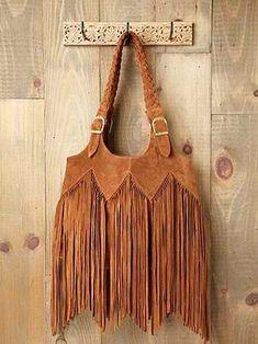 boho country... fringe purse