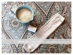How to make a heating bag with just rice & babylegs!