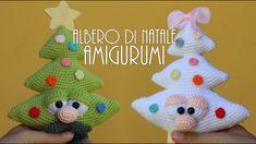ALBERO DI NATALE AMIGURUMI ● Alberto l'alberello & Annalisa l'alberina