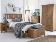 Alton Oak Blanket Box