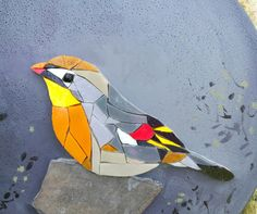 Mosaic Crafts, Mosaic Projects, Mosaic Art, Mosaic Glass, Mosaic Animals, Mosaic Birds, Mosaic Flowers, Wabi Sabi, Mosaic Rocks