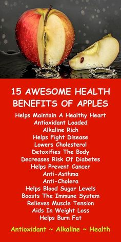 15 AWESOME HEALTH BENEFITS OF APPLES; the antioxidant loaded alkaline rich healing superfood. Learn about alkaline rich Kangen Water; the hydrogen rich antioxidant loaded ionized water that neutralizes free radicals that cause oxidative stress ⭐️ Apple Health Benefits, Fruit Benefits, Sport Nutrition, Health And Nutrition, Natural Health Remedies, Natural Cures, Sante Bio, Hypothyroidism Diet, Protein Muffins