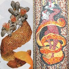 "@thejewelrybureau on Instagram: ""@kclrparis post of the mosaic outside Le Bar du Marché reminded me that creative inspiration can be found everywhere. Orange Peel Brooch by JAR. Photo from a T&C 2004 article. #JARjewelry #JewelsbyJAR #jewelryinspiration #lebardumarche #paris6"""