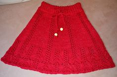 Ravelry: andrea-k-w's Rotes Röckle