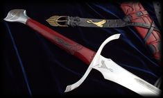 The Flame And The Void - Heron Mark Sword by Fable Blades Custom Swords Australia