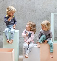 I love clothes for kids that focus on comfort over style.  These outfits all look so comfortable for kids and toddlers. #kidsfashion #babyfashion