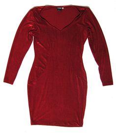 Siirry tuotteeseen - viininpunainen samettinen vintage mekko