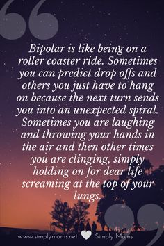 Bipolar How I Cope with having Loved Ones With Mental Illness Bipolar Disorder Quotes, Bipolar Quotes, Living With Bipolar Disorder, Anxiety Disorder, Bipolar Help, Mental Illness Test, Mental Illness Awareness, Nervous Breakdown, Mental Breakdown