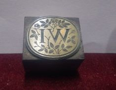 Printing block Womens Institute, Class Ring, Badge, Decorative Boxes, Printing, Rings, Jewelry, Jewlery, Jewerly