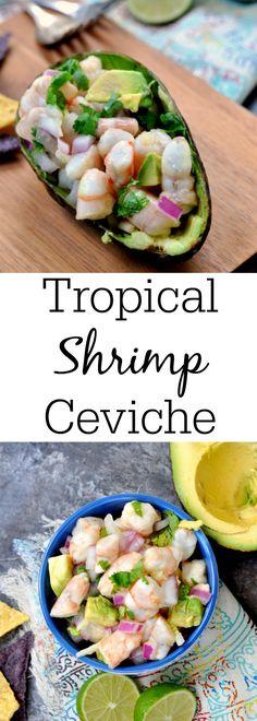 Tropical Shrimp Ceviche More