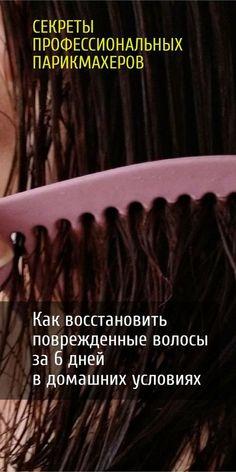 Методика оздоровления волос за 6 дней. Профессиональные трюки в домашних условиях.
