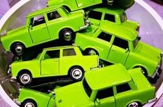 Chartreuse cars