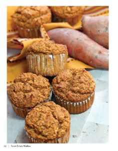 Low Carb and Gluten Free Sweet Potato Muffins.... Recipe by George Stella....Low Carbing Among Friends on Facebook