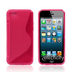 #S-Shape Series #TPU Skin Case Case for #Apple #Iphone 5C [PC-DPUSPNSC] - $12.90 : #Magenta