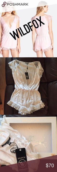 NWT WILDFOX INTIMATES WHITE RUFFLE ROMPER Stunning WHITE ruffle detailed WILDFOX COUTURE romper. Soft, cozy, and figure flattering. In perfect condition, brand new with tags, and comes with original box. Any questions, please ask. I have three of these in my closet. This is a XS/WHITE I also other colors and sizes. Happy to consider reasonable offers, but low balls will be ignored. *stock and model photo are pink. Just wanted to reiterate that you will receive WHITE. 💕💕 Wildfox Couture…