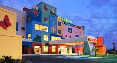 Edinburg Children's Hospital is the first and only hospital in the Rio Grande Valley built just for kids. Medical Design, Healthcare Design, School Building Design, School Design, Hospital Signage, Kindergarten Design, Hospital Design, Childrens Hospital, Kids Hospital