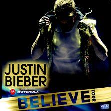 Justin Bieber- Believe Tour 10/06/12 Row 3