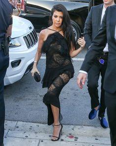 Kourtney Kardashian Photos - Celebrities Attend Isabela Rangel