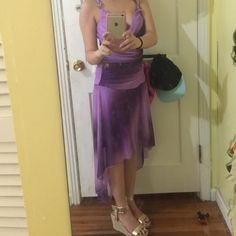 Purple High-Low Formal Dress Brand new, never worn(without Tags). Very cute and pretty for any events. Trixxi Dresses High Low