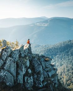 Photographer Anthony Dimitri recommends visiting the rocky ridge of Voseges mountains, which offer a breathtaking panoramic view. It's also the perfect place to stargaze.