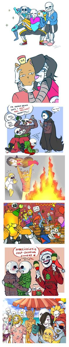 Undertale: Draw the Squad by Candy-DanteL