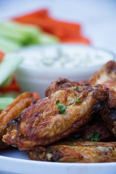 These are the BEST chicken wings, the air fryer makes them incredibliy crispy! This is the reason why I bought my first air fryer and I have perfected my recipe and process for the most delicious air fryer buffalo chicken wings. Frozen Chicken Wings, Frozen Chicken Recipes, Air Fryer Chicken Wings, Picky Toddler Meals, Toddler Dinners, Toddler Lunches, Baby Food Recipes, Healthy Dinner Recipes, Kid Recipes