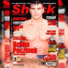 """Bruno Poczinek """"Chico Shock Abril 2018"""" en Shock Magazine"""
