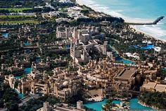 I love Madinat Jumeirah, a magnificent tribute to Dubai's heritage and is styled to resemble an ancient Arabian architecture!! Honestly, one of the most BEAUTIFUL places in Dubai! Photograph by © Marat Dupri. Wonderful place, especially in the evening time by the beach.