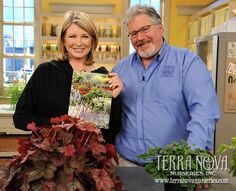 Back in March, our plant guru, Dan Heims, made an expert guest appearance on The Martha Stewart Show for two segments. The first segment included a walk-around interview between Martha and Dan, during which he discussed plant breeding, discovery, and tissue culture. The second segment focused on Terra Nova Nurseries new plants for 2011.