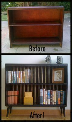 Thrift store makeover from Sussy Crafts
