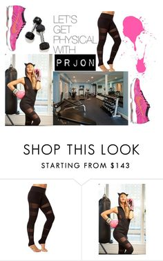 """""""#AthleticWear #OOTD Let's Get Physical w/ PRJON"""" by fashionoutletny on Polyvore featuring NIKE"""