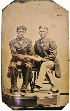Victorian Gentlemen In Love