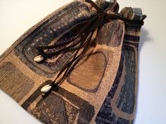 Drawstring Travel Bag, Suitcase Accessory, Shoe Bag by HugsandHolidays