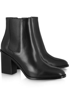 Saint Laurent | Leather Chelsea boots | NET-A-PORTER.COM