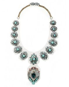 Les Nouvelles Simonne Necklace #pageantaccessories