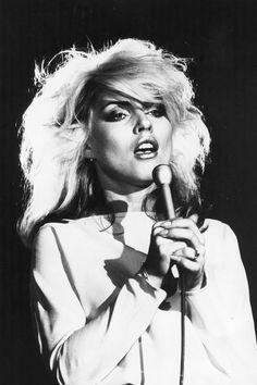 Debbie Harry hair style