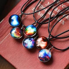 Planet Crystal Necklace