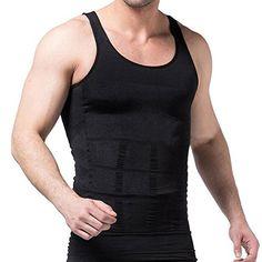 f3270020364a BeneU Mens Slimming Trimmer Body Shaper Vest BreathableBlack Size S -- You  can get more