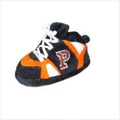 Comfy Feet NCAA Baby Slippers - Princeton Tigers by Comfy Feet. $15.20. Who can resist!? Our slippers are a great gift for kids, students, Mom, Dad, Grandparents, and/or alumni. As a warm comfortable house slipper, with a thick foam sole and padded upper, or as a decorative piece for your home or office. This 100% polyeste. Save 45%!