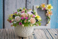 Flower Boxes, Flower Cards, Soap Carving, Polymer Clay Flowers, Fake Flowers, Gum Paste, Floral Arrangements, Centerpieces, Floral Wreath