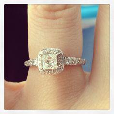 My beautiful engagement ring xxx