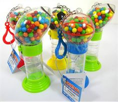 Mini Sports Ball Dispenser With Candy 12ct