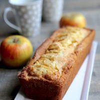 Cake aux pommes et aux amandes sans gluten »