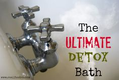 The Ultimate Detox bath. This one really makes you sweat out those toxins! The ultimate detox bath. This really lets you exude these toxins ! Nclex, Liver Detox Cleanse, Toxin Cleanse, Skin Detox, Bath Detox, Alcohol Detox, Nutrition, Health And Beauty Tips, Health Tips