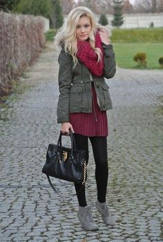 Strikingly Adorable Fall Outfit