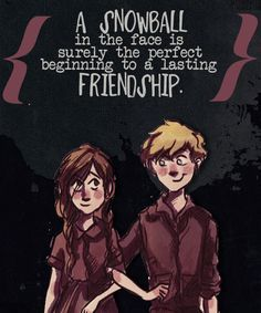 This quote explains the beginning of Rudy and Liesel's friendship. Their friendship is seen throughout the book a lot. They are like partners in crime because they stole things today. They were not just friends, but each of them loved each other on the inside. They always had each others backs.